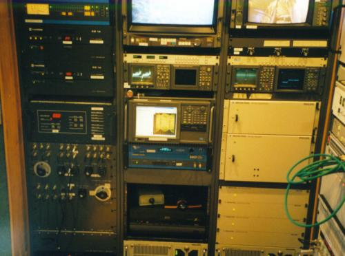 Electronic Test Equipment Racks : Broadcast engineering sites